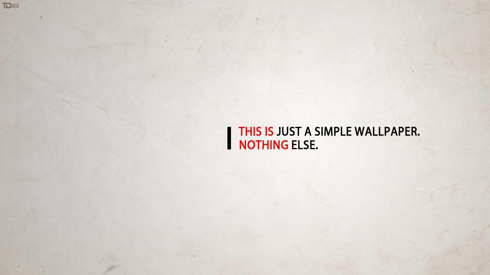 Minimalist Wallpaper