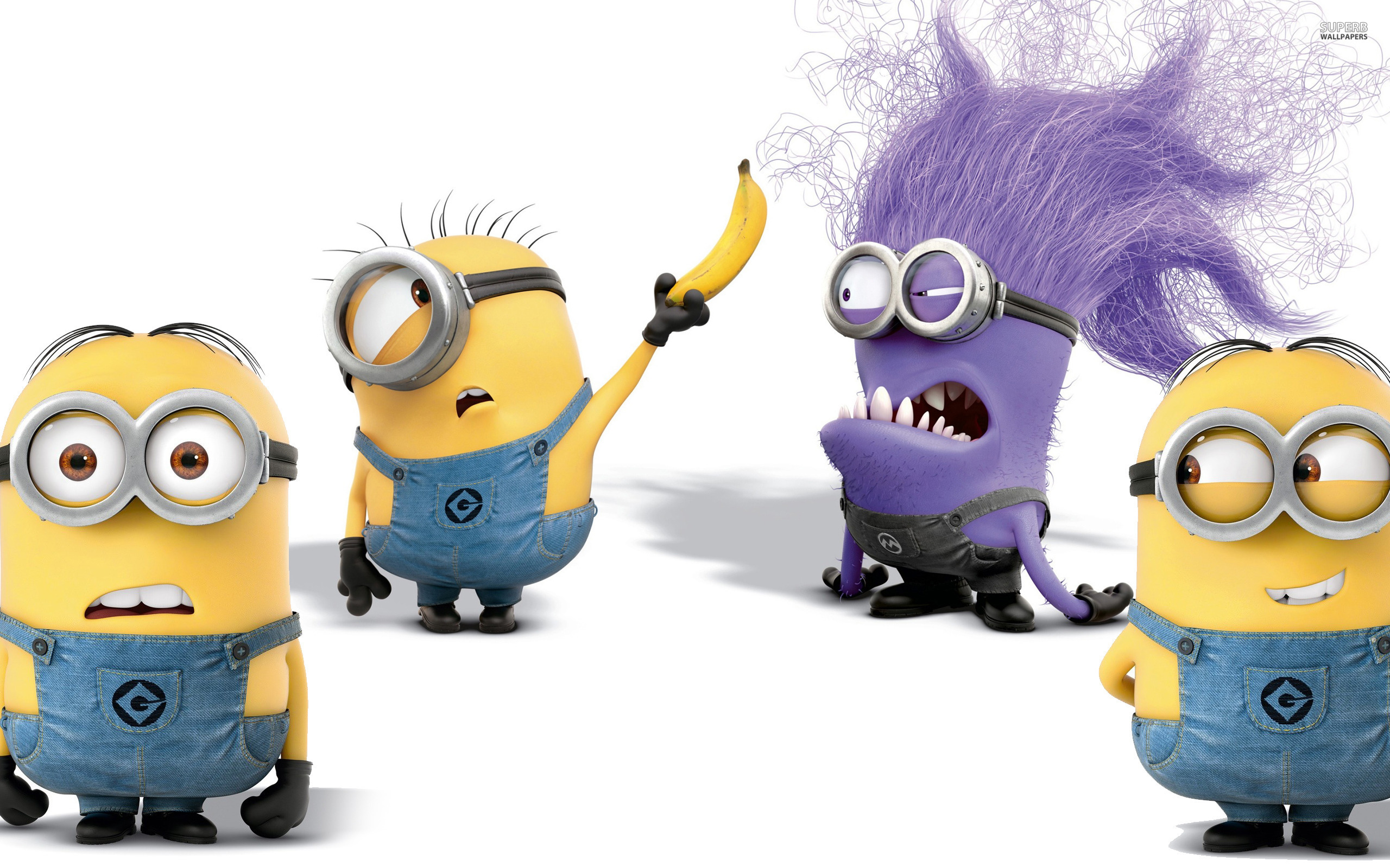 Minions - Despicable Me 2 wallpaper 2560x1600 jpg