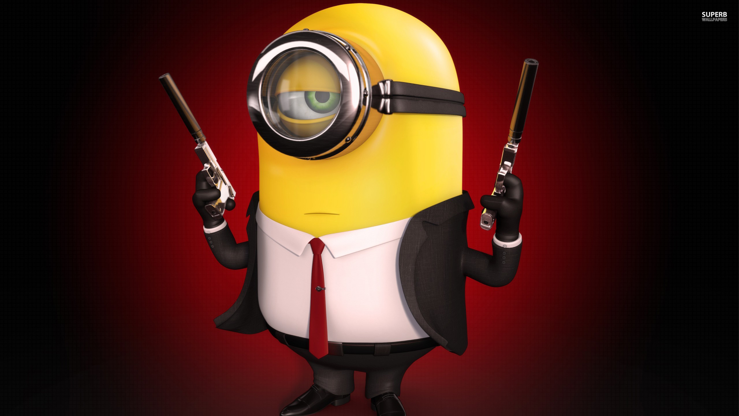 Hitman minion wallpaper 2560x1440 jpg