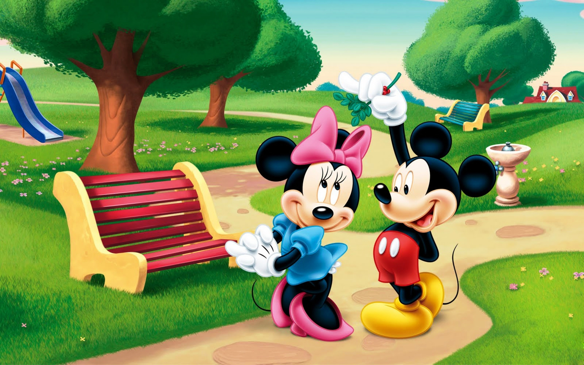 Mickey And Minnie Mouse 25737