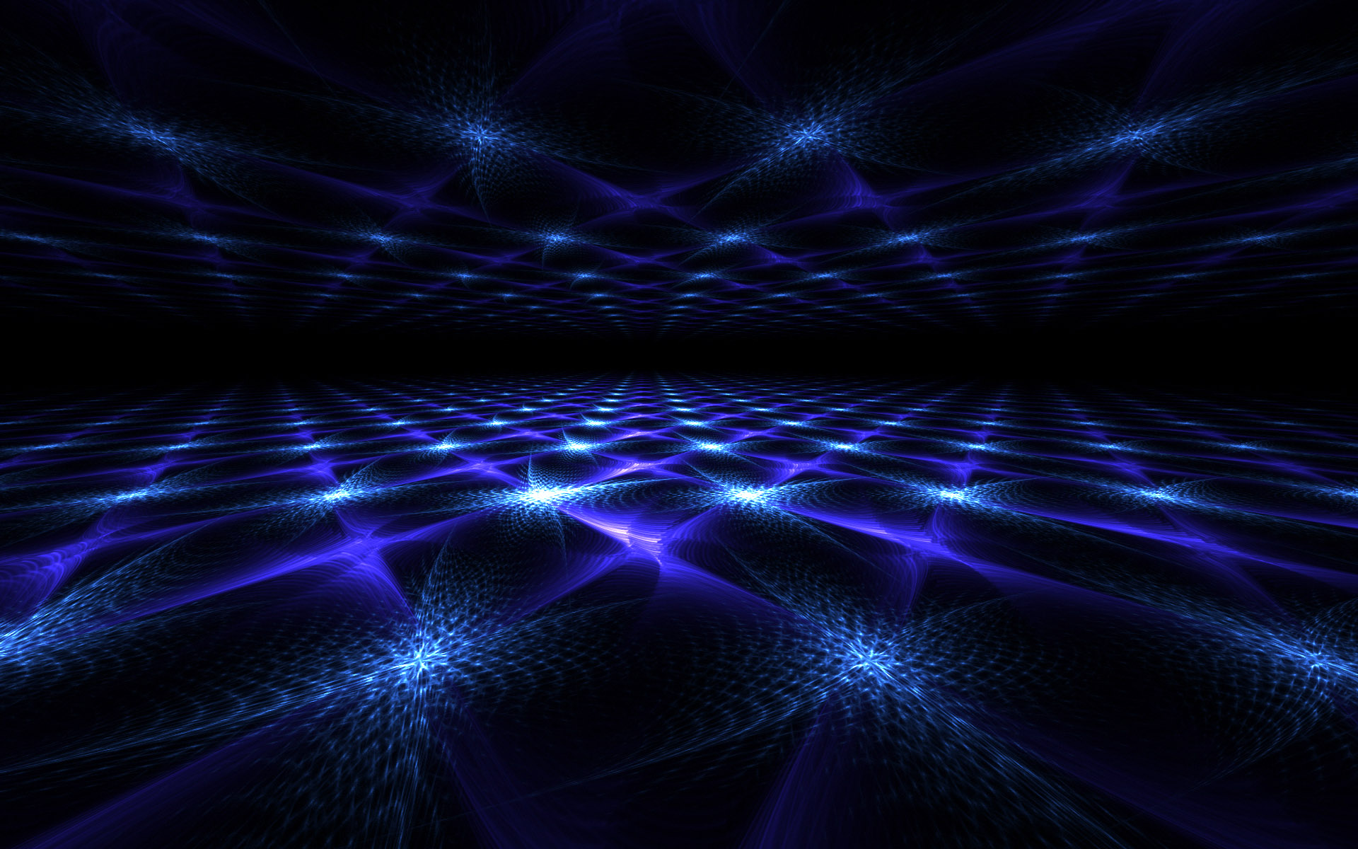 Nice Blue Fractal Mirror Lt Abstract Gallery Desktop Wallpaper 1920x1200px
