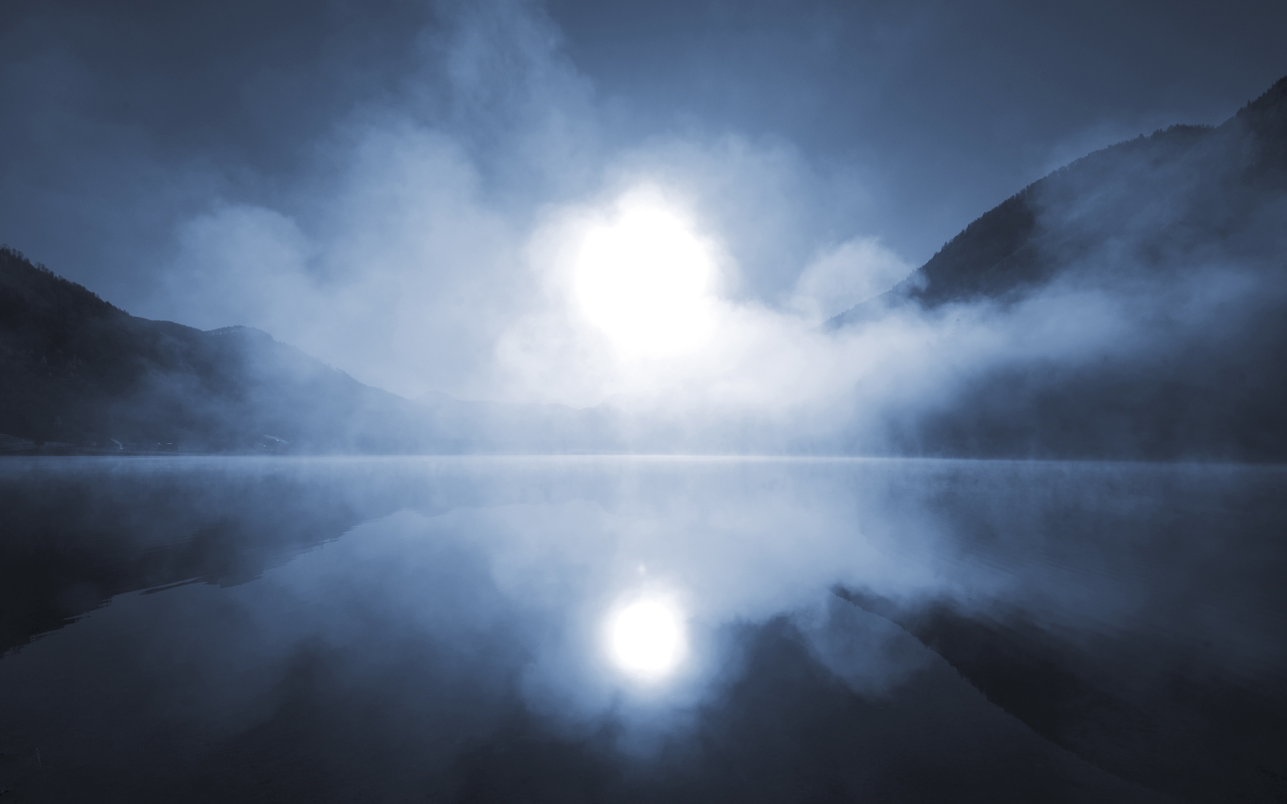 Lake Mist 33770 2560x1600 px