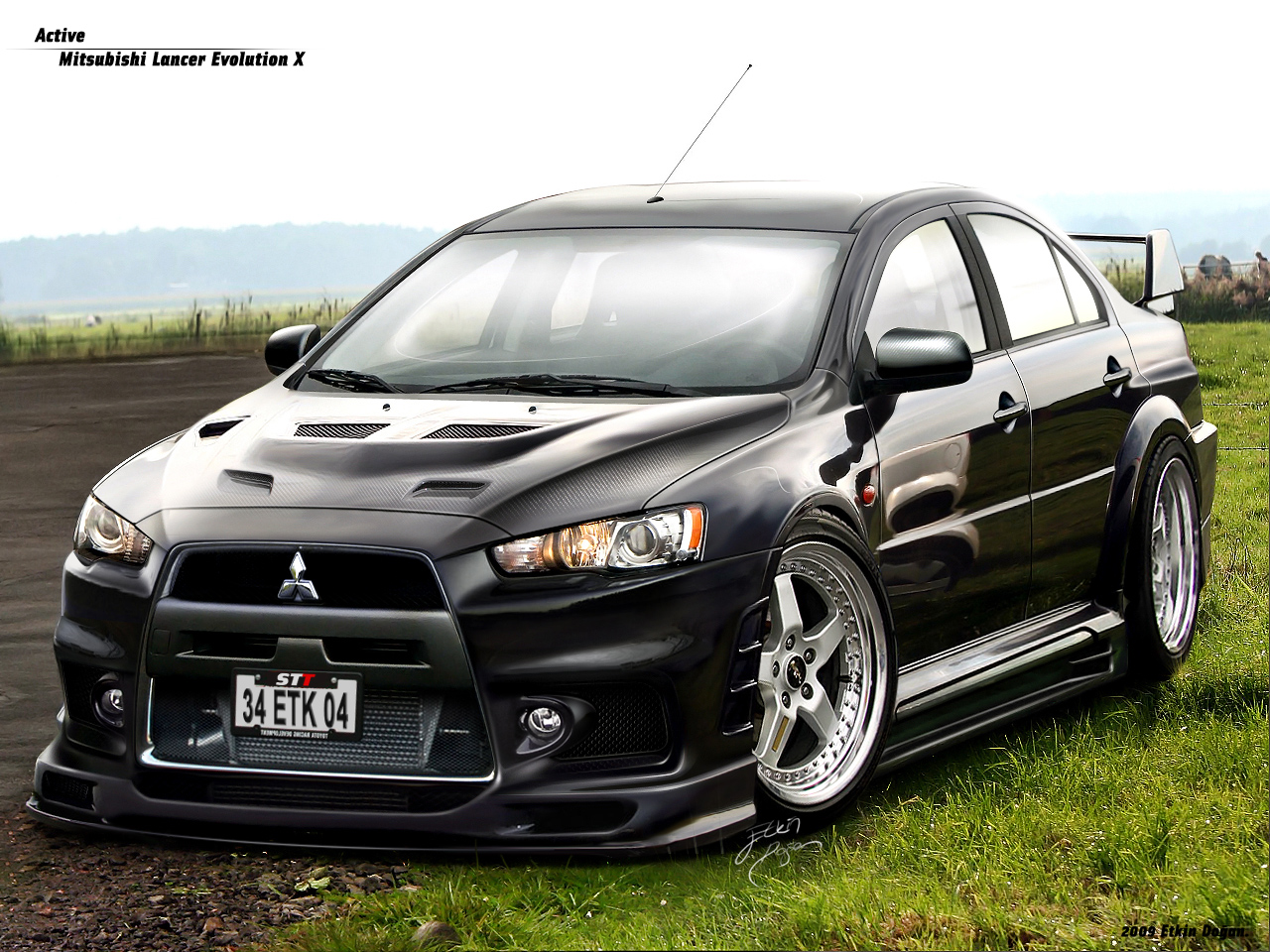 Mitsubishi Evolution Photo