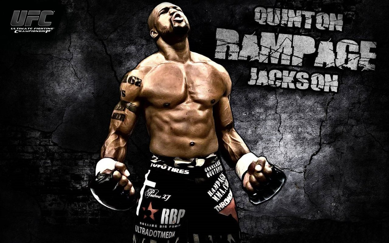 "Wallpaper of the Day: Quinton ""Rampage"" Jackson"
