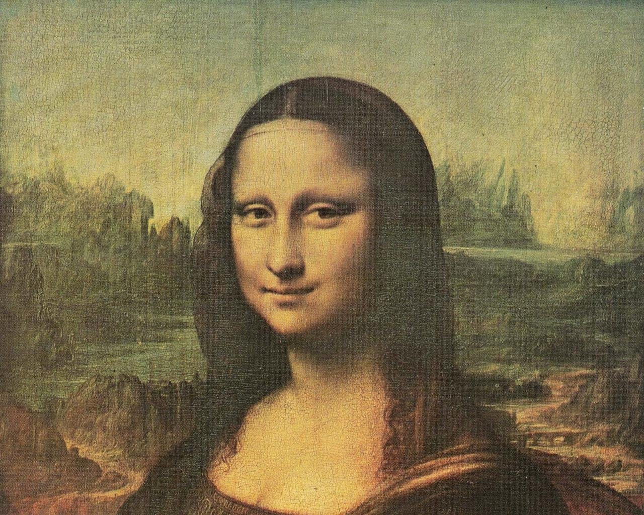 Wallpaper Tags: vinci mona lisa fine