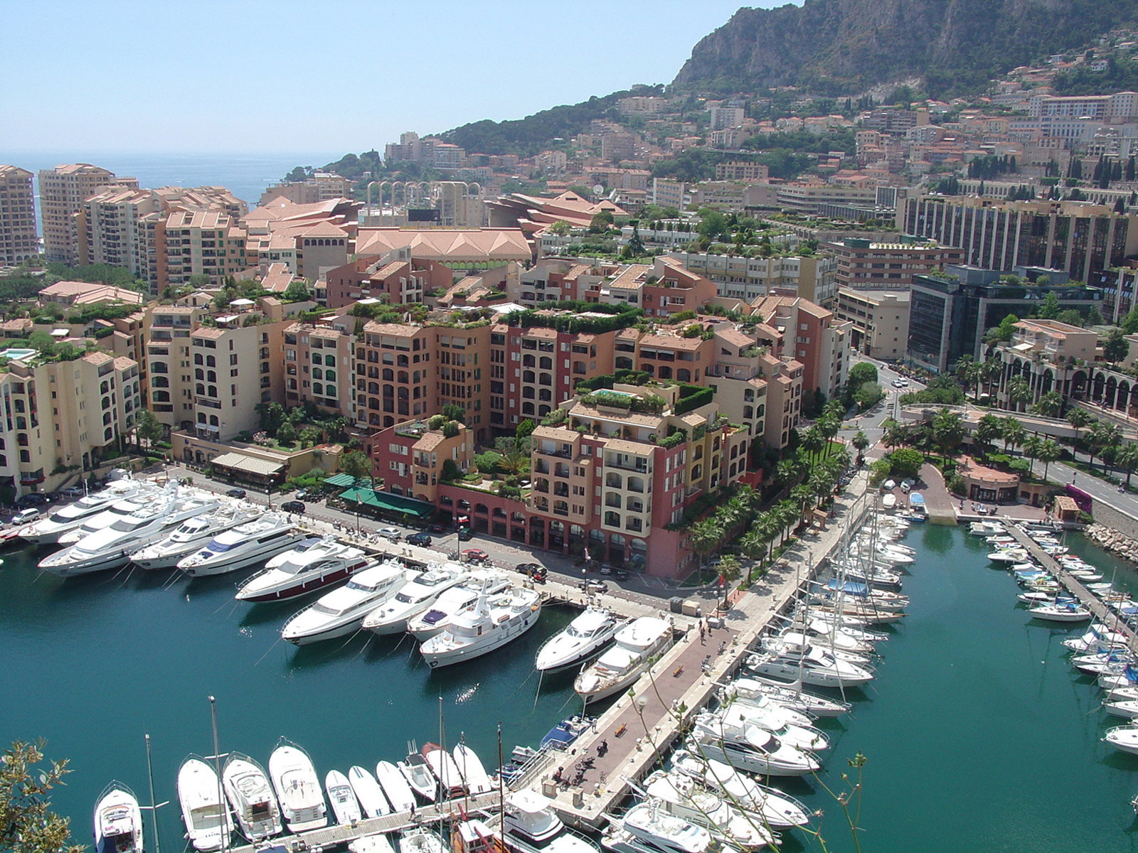 View of Fontvieille
