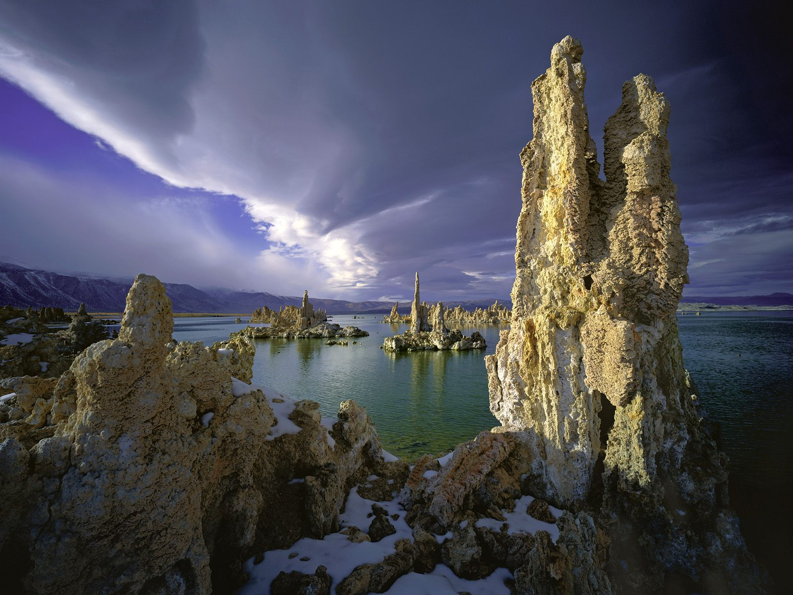Tufa Towers, Mono Lake, California Credit: No picture credit .