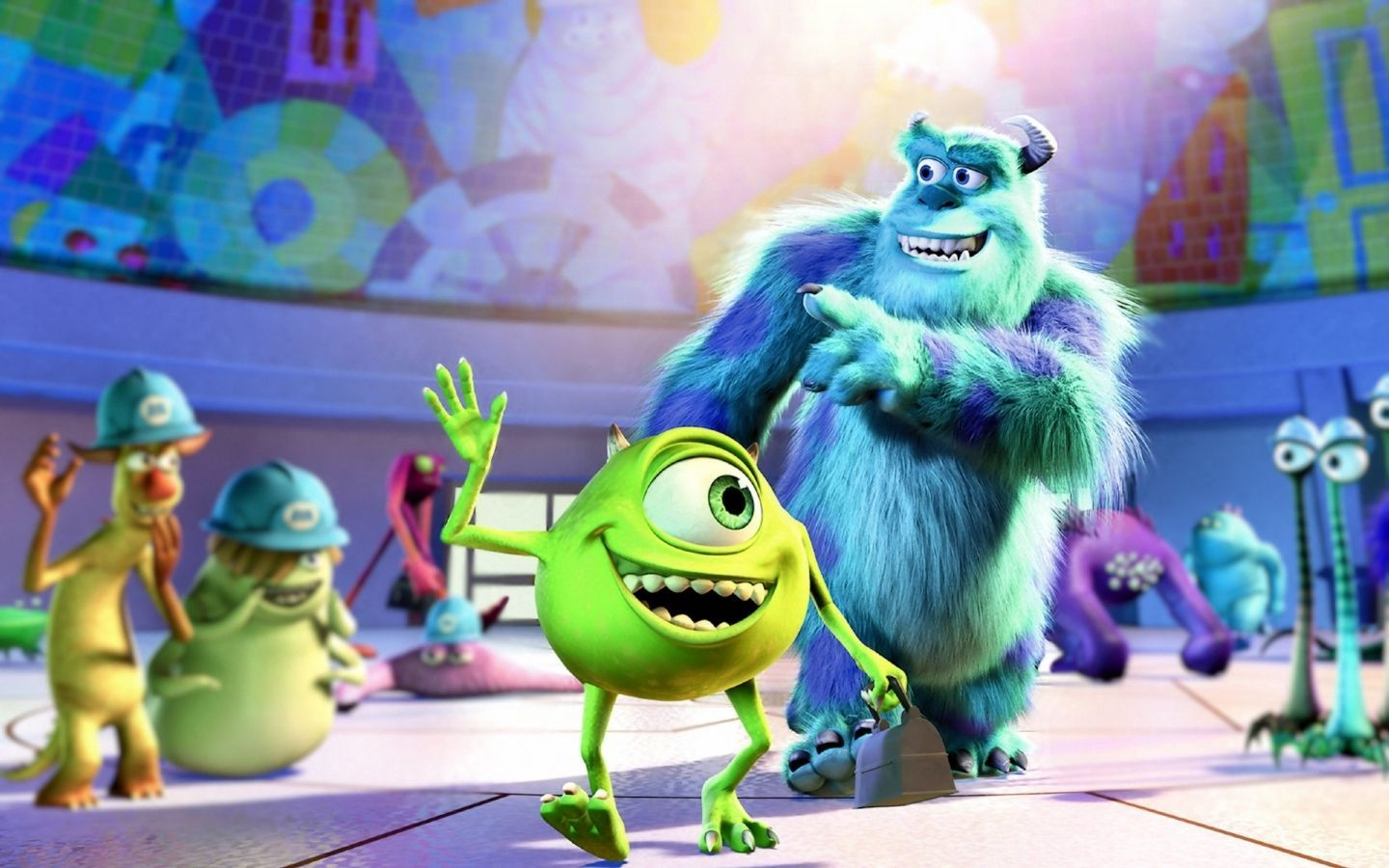 Monster Inc Wallpaper HD