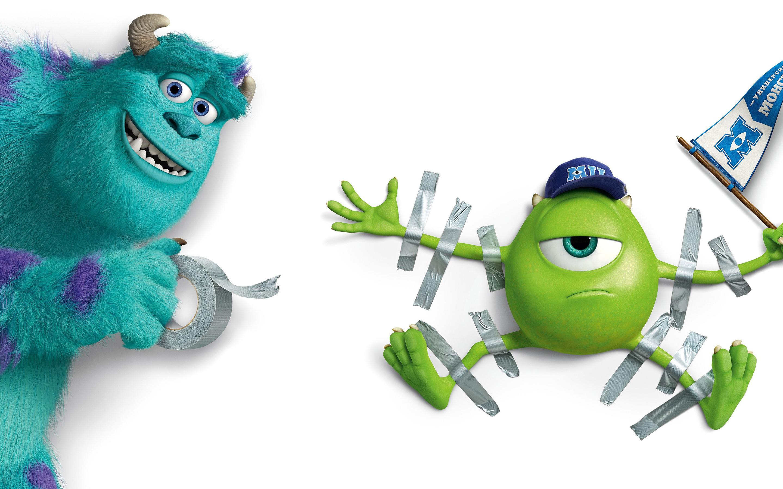 Monsters University Animation Movie HD Wallpaper