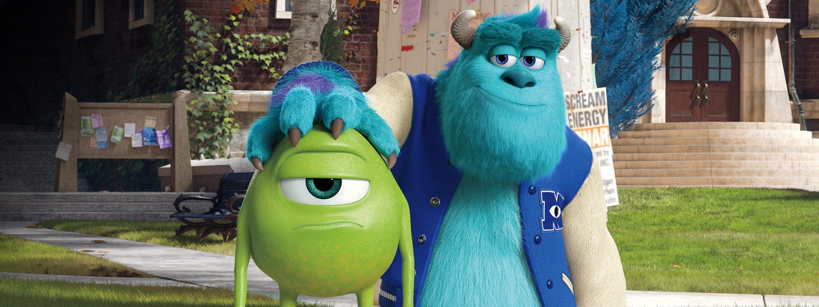 10. X. Monsters University ...