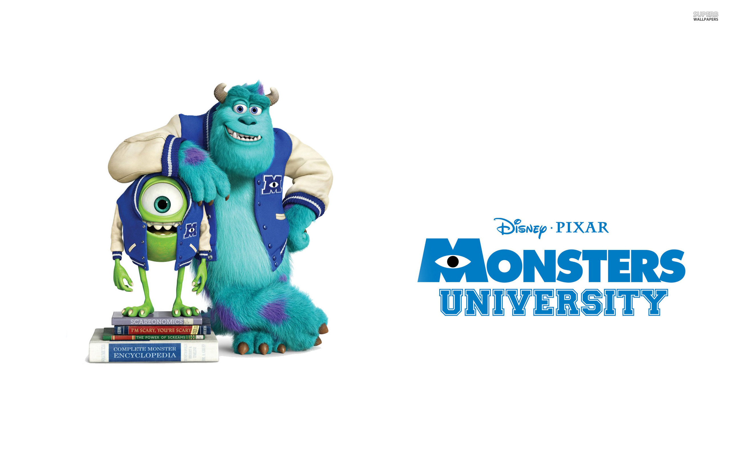 Sulley And Mike Wazowski Monsters University
