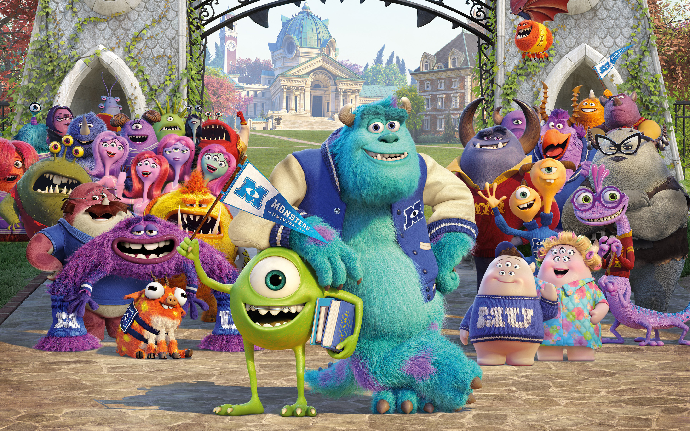 Monsters University 3D Movie Wallpaper