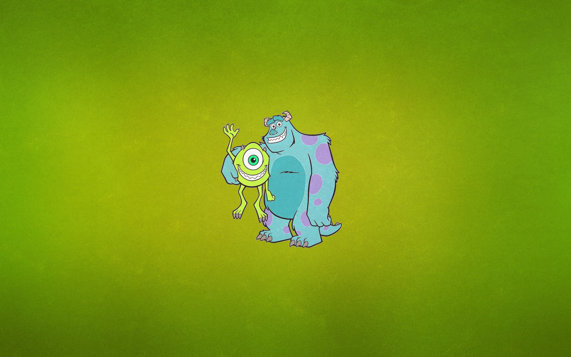 Monsters University Mike Wazowski James Sullivan Cartoon
