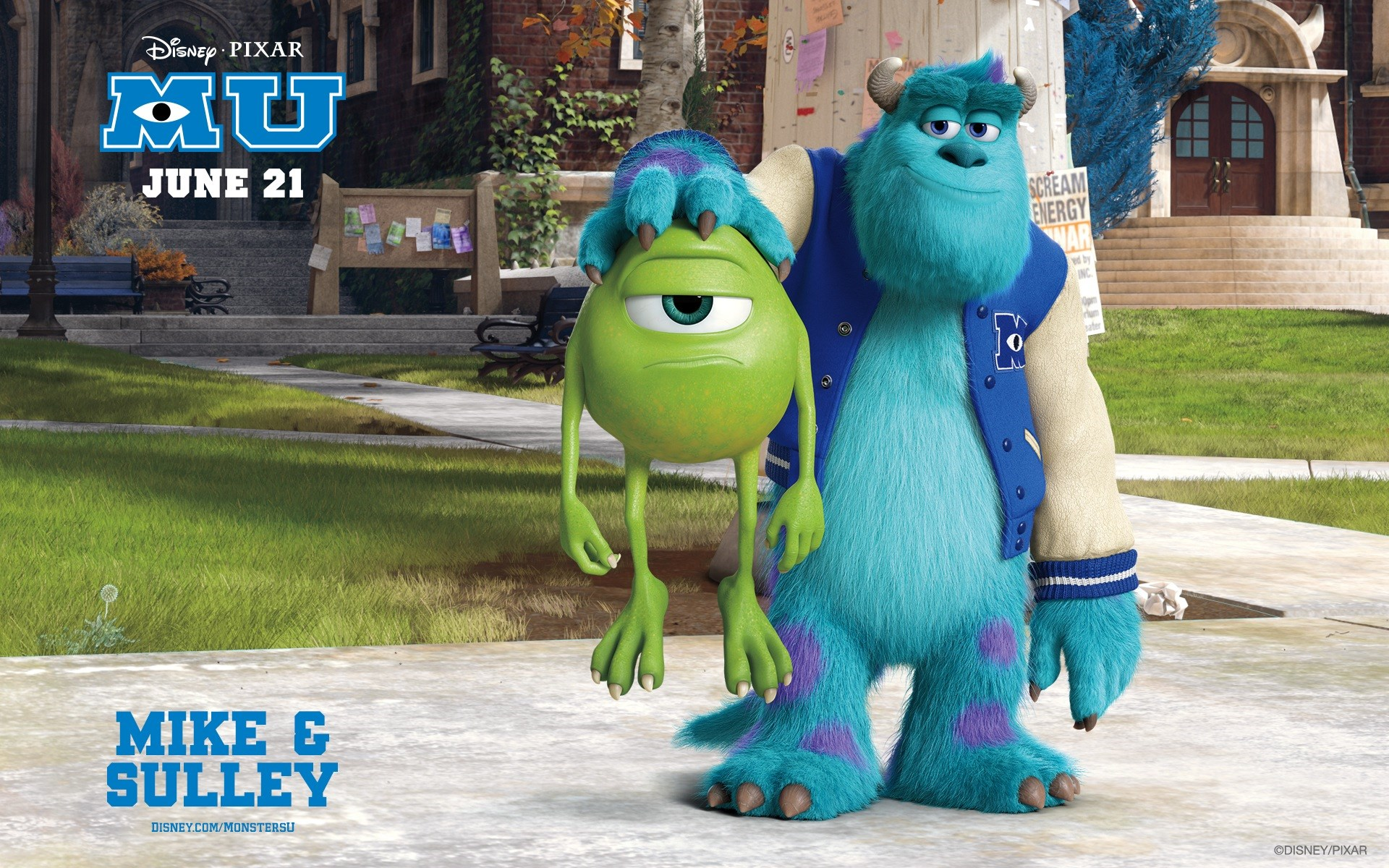 Monsters University Poster Movie Cartoon