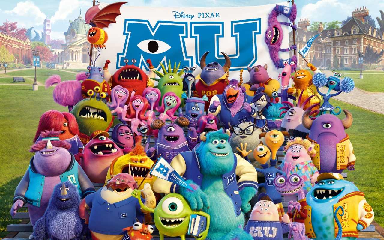HD Wallpaper | Background ID:403797. 1280x800 Movie Monsters University
