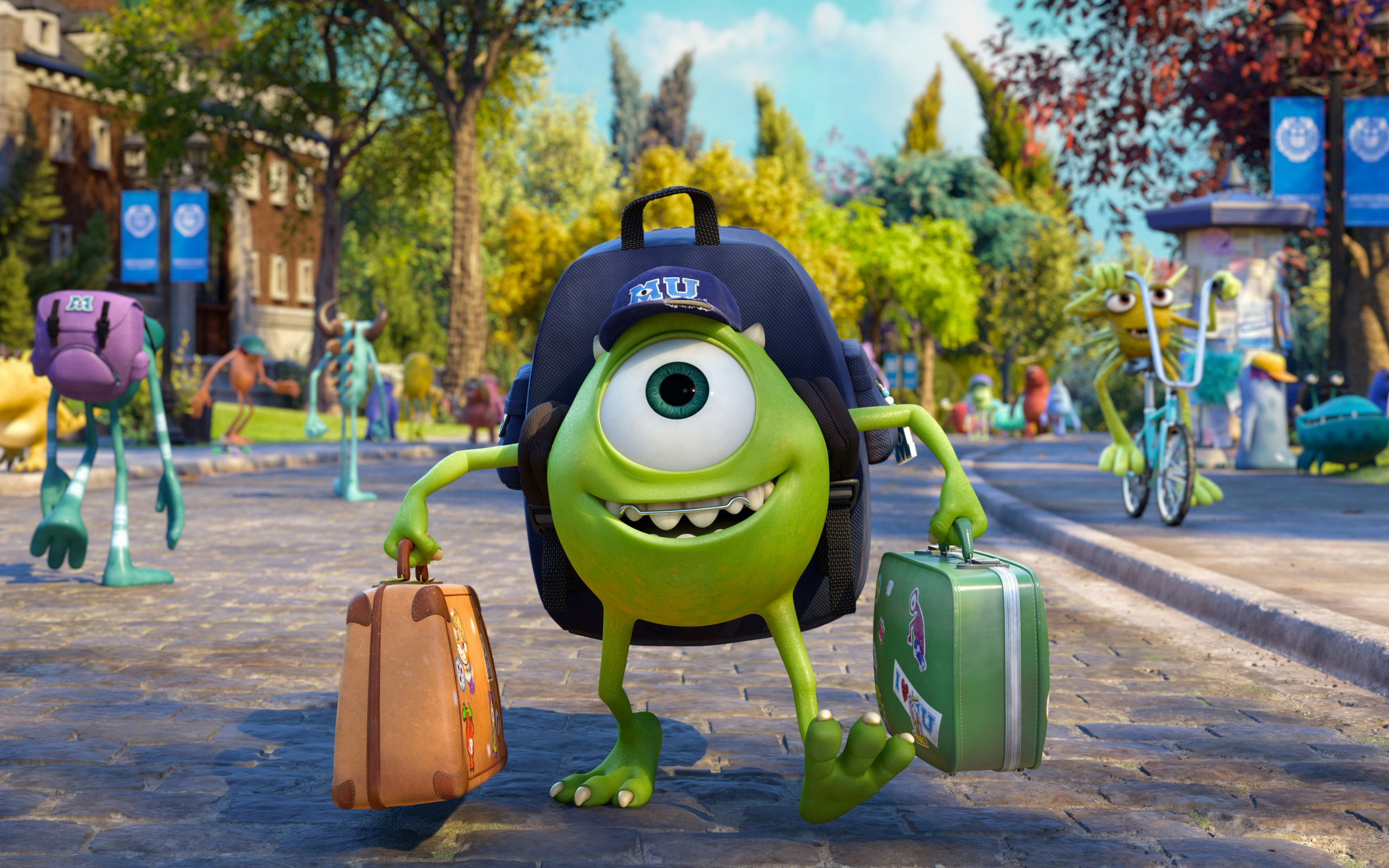 HD Wallpaper | Background ID:367506. 2560x1600 Movie Monsters University