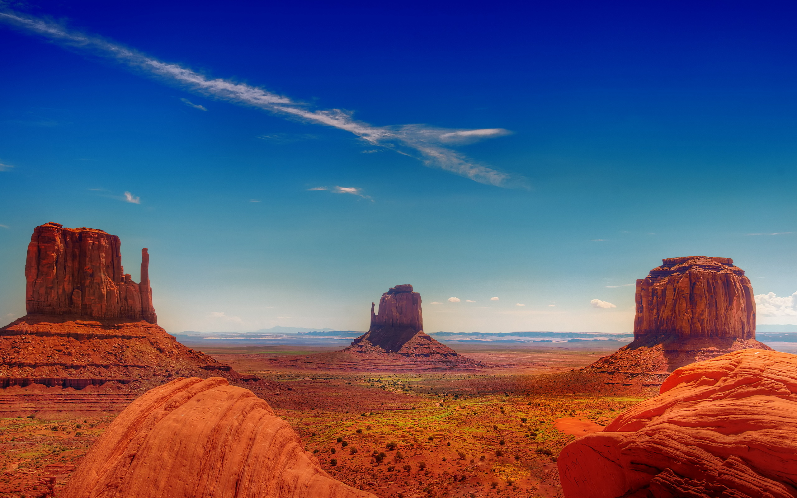 original wallpaper download: Monument Valley - 2560x1600