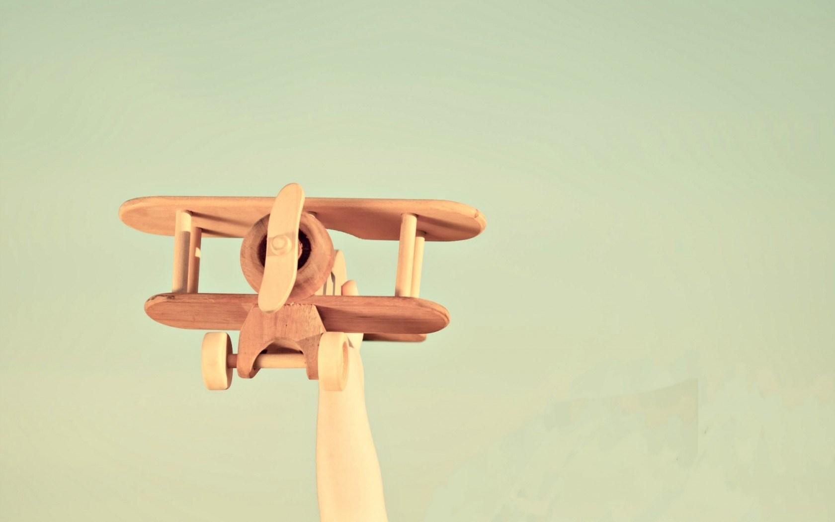 Mood Airplane Wood