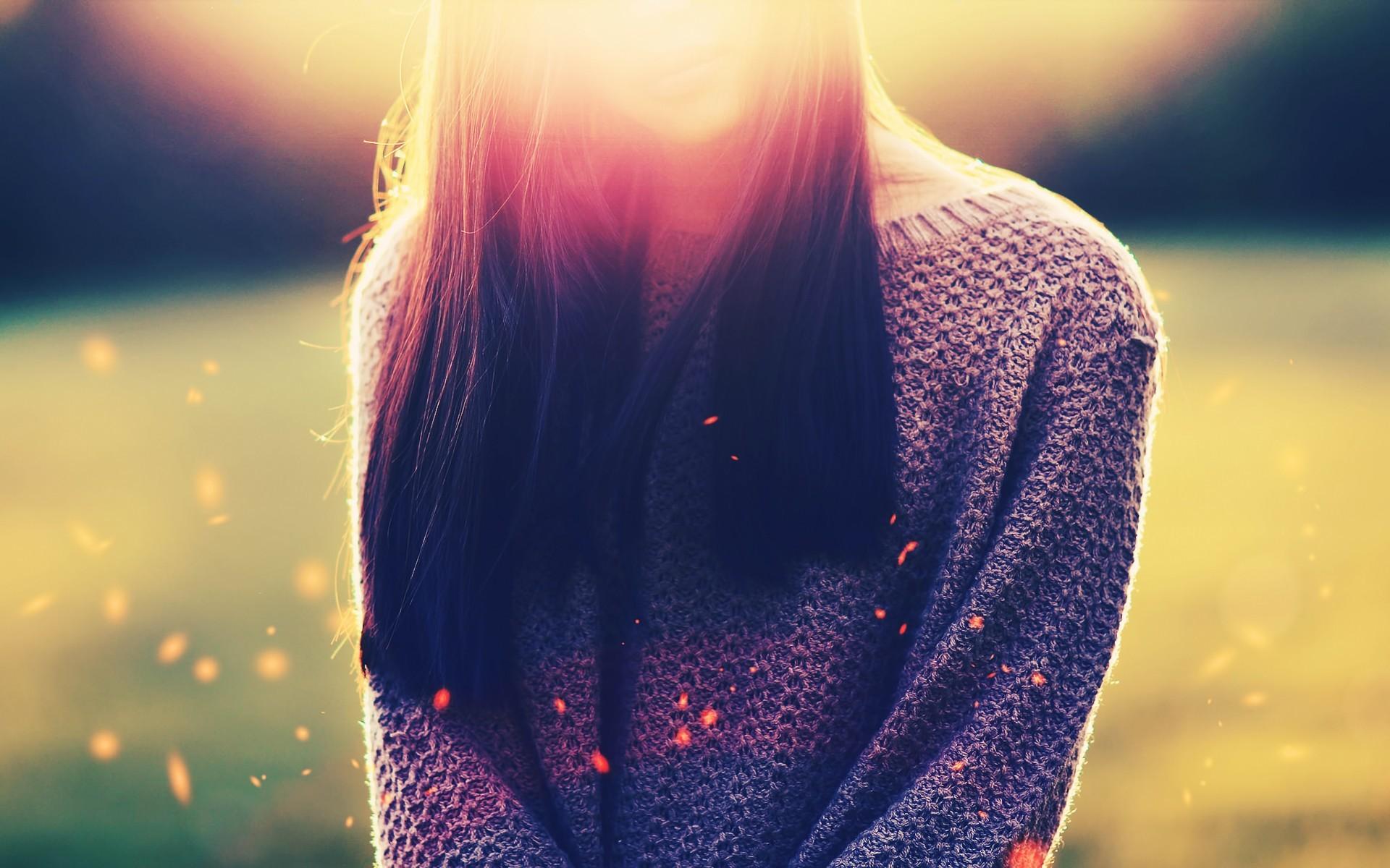 Mood Girl Hair Photo