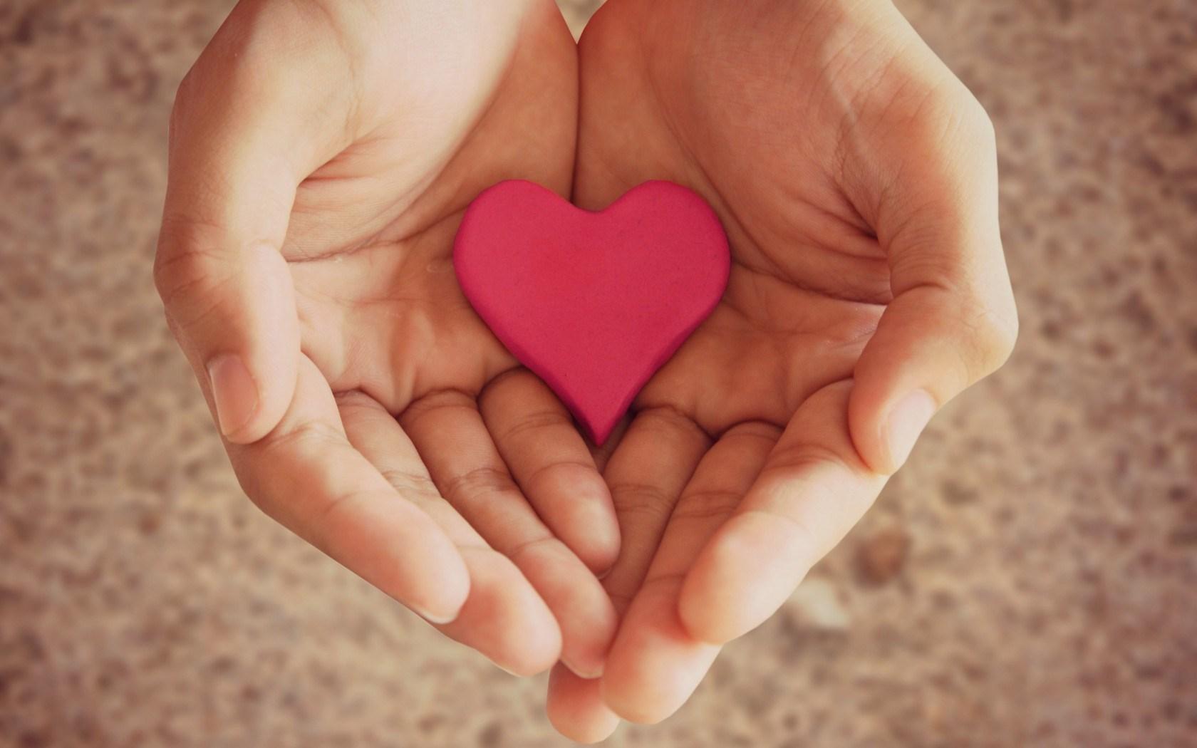 Mood Hands Girl Heart Pink Love