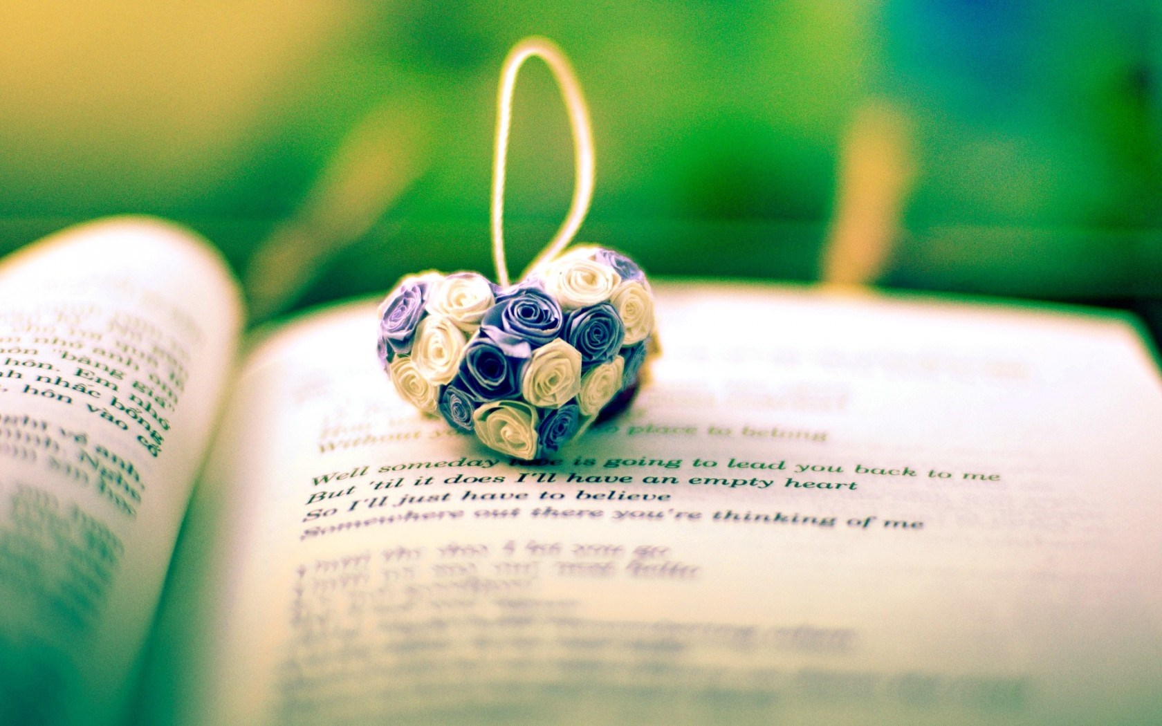 Mood Heart Flowers Book