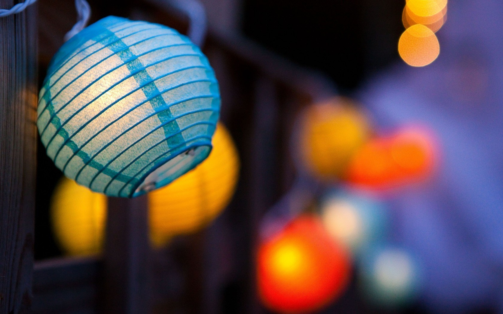 Mood Lantern Flashlight Bokeh
