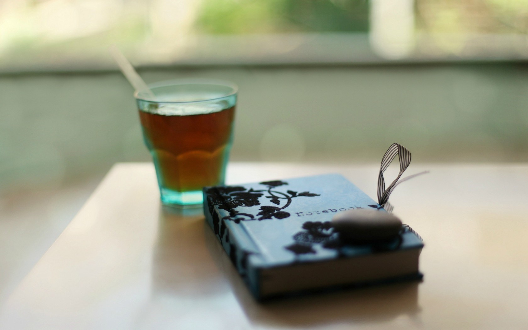 Mood Notebook Stone Tea