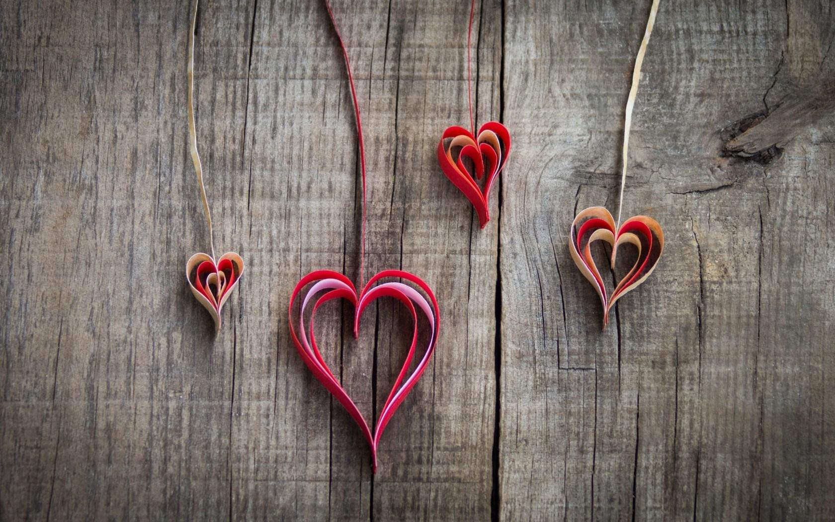 Mood Paper Origami Hearts Love
