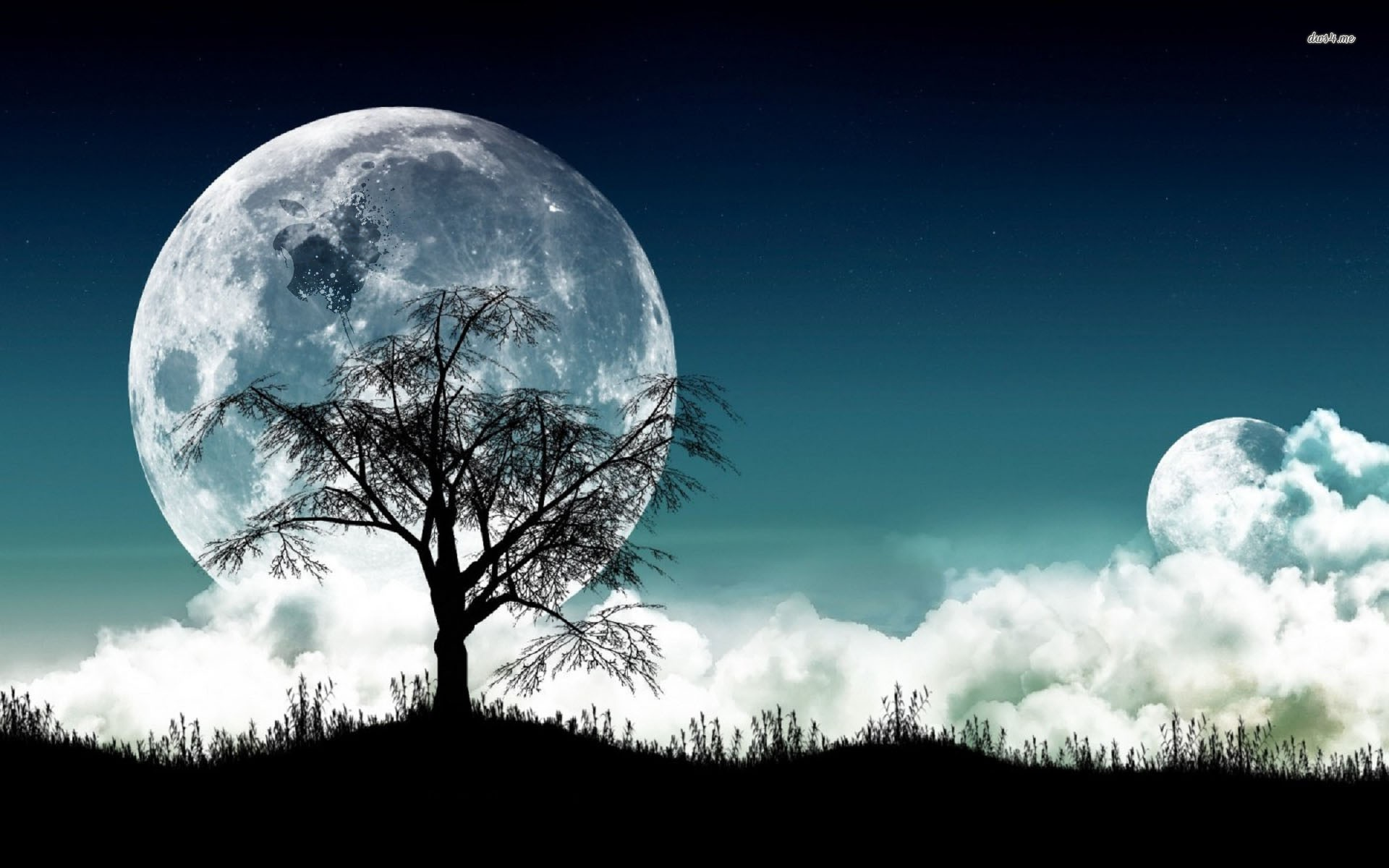 ... Moonlight wallpaper 1920x1200 ...