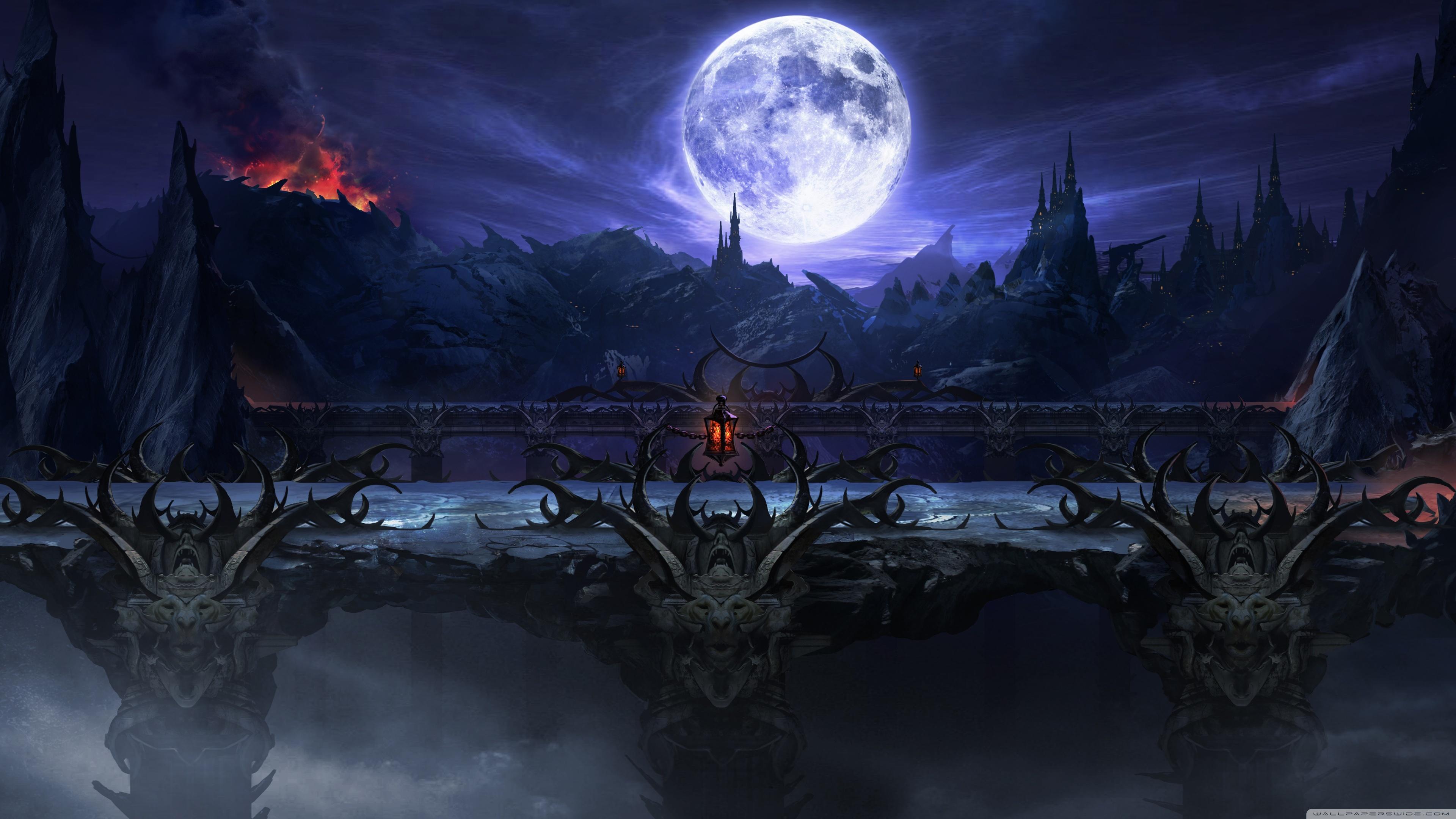 Mortal Kombat X 2015 Background HD Wide Wallpaper for Widescreen