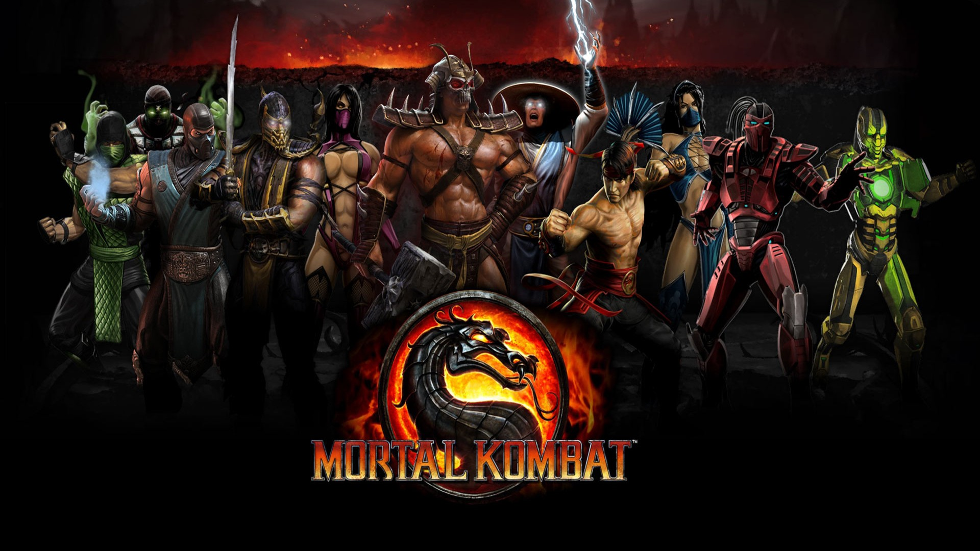 HD Wallpaper | Background ID:319986. 1920x1080 Video Game Mortal Kombat