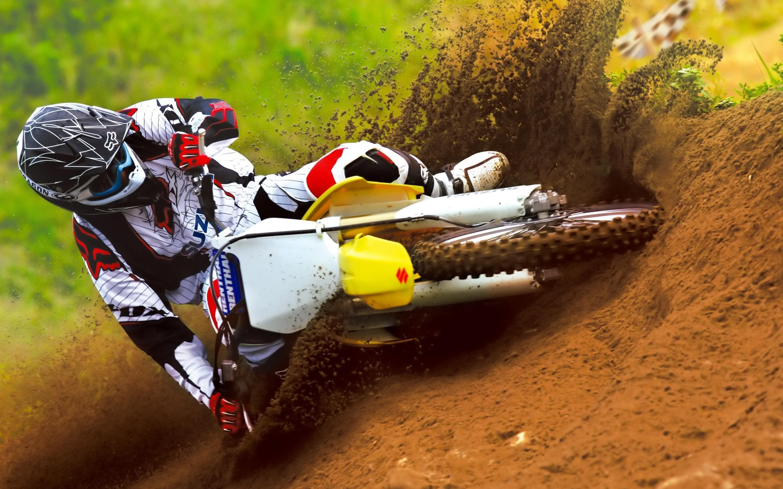 Motocross Dirt Hd Wallpaper