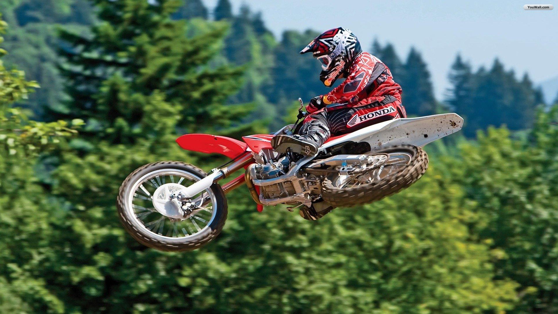 Motocross Jump Wallpaper