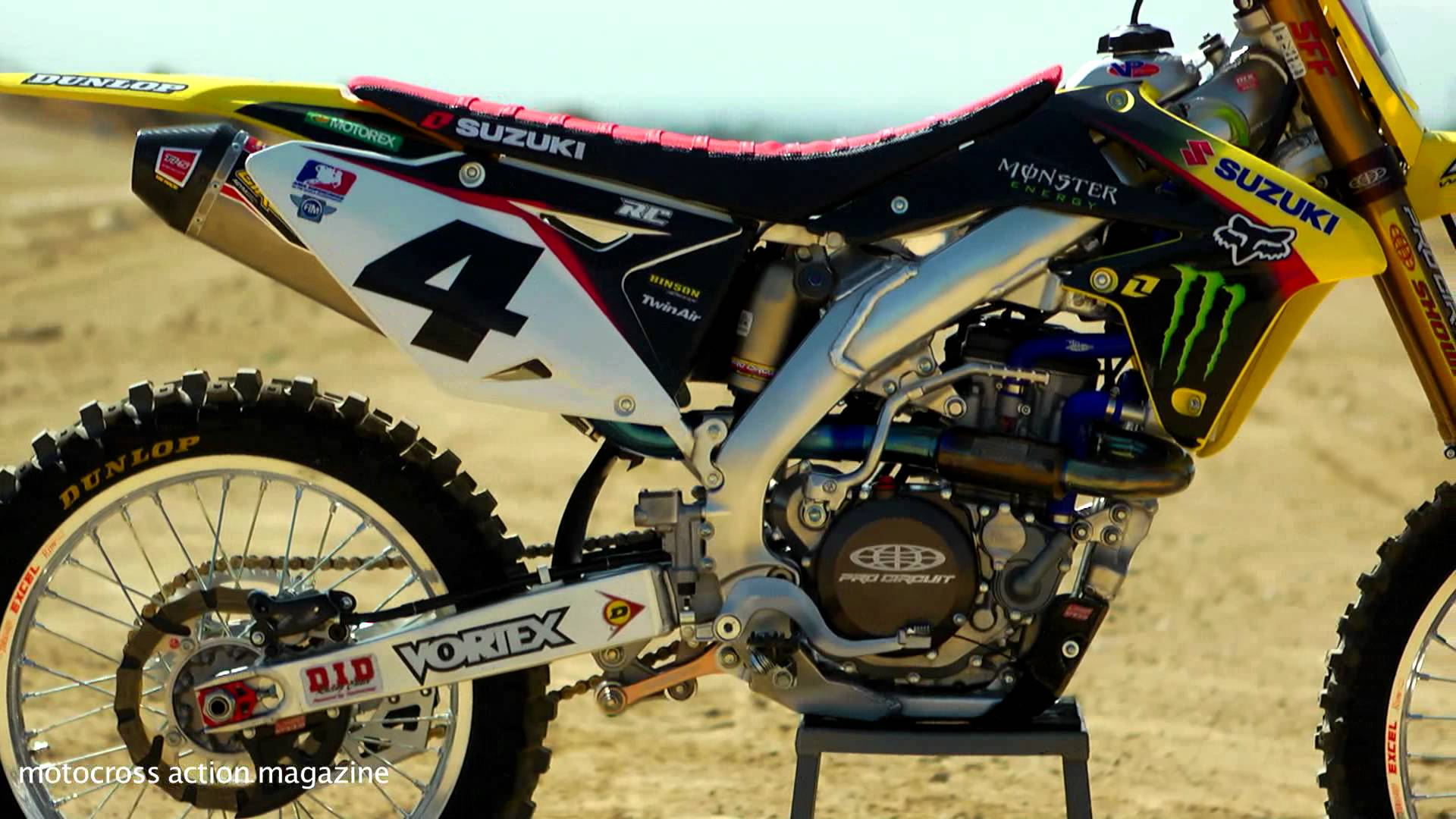Motocross suzuki rmz 450