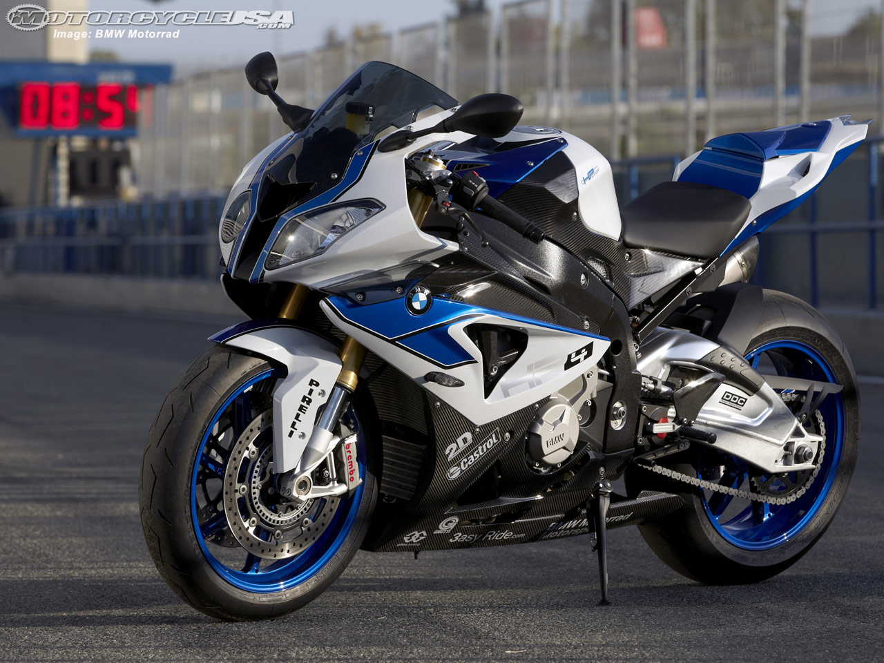 Motorcycle BMW HP4