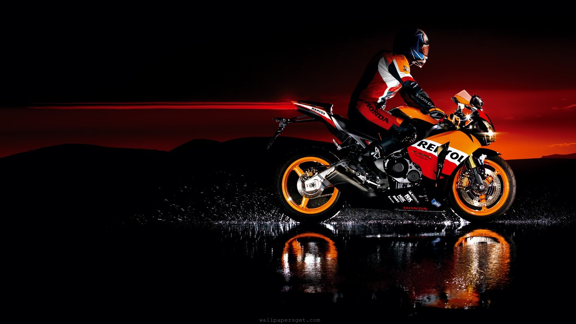 Motorcycle Background HD Wallpaper Free Download