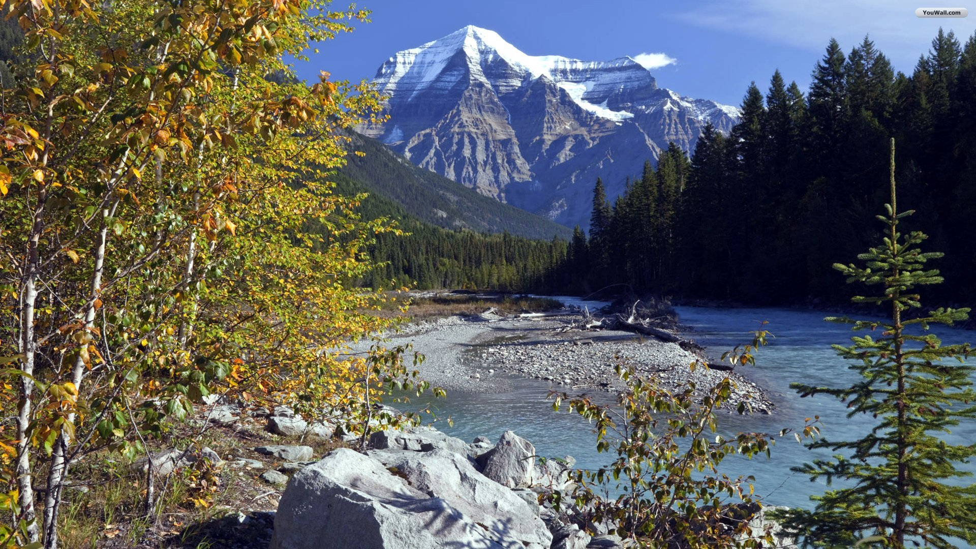 Mountain and River Wallpaper YouWall - Mountain and River Wallpaper - wallpaper,wallpapers,free