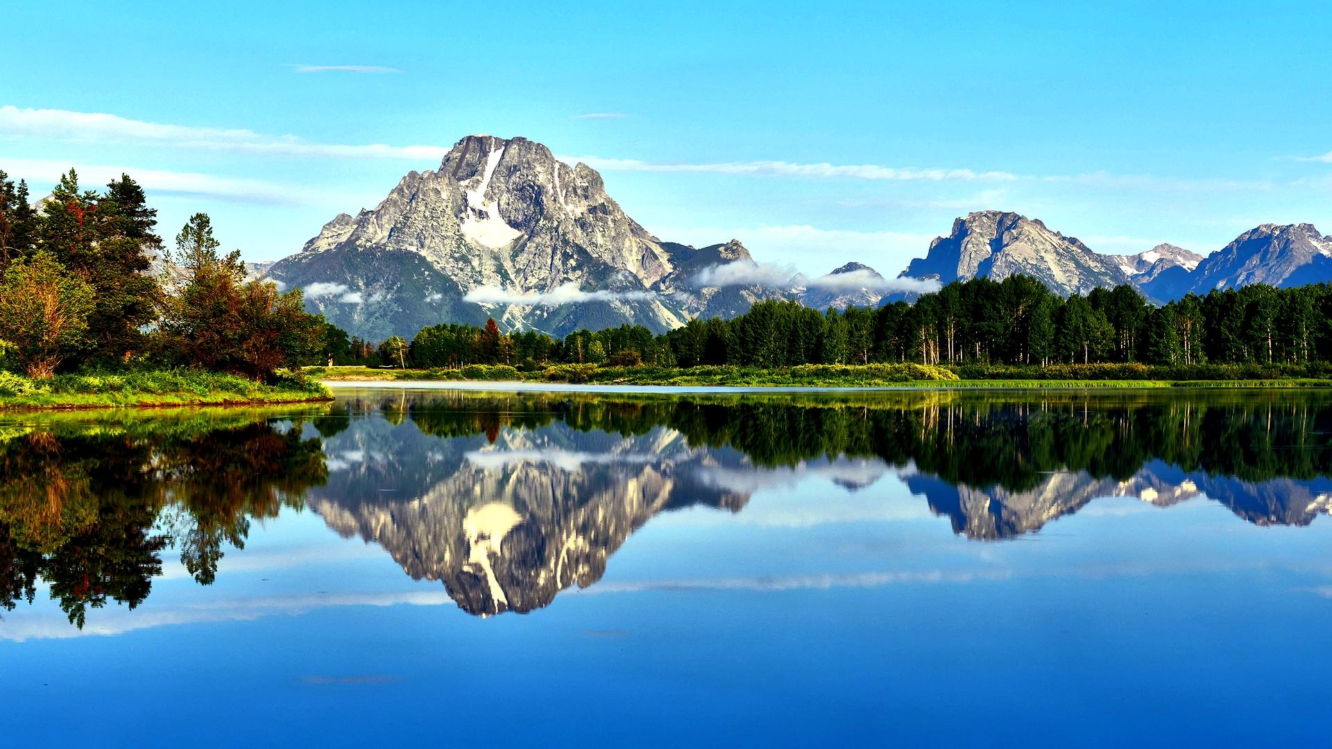Mountain Lake Scenery