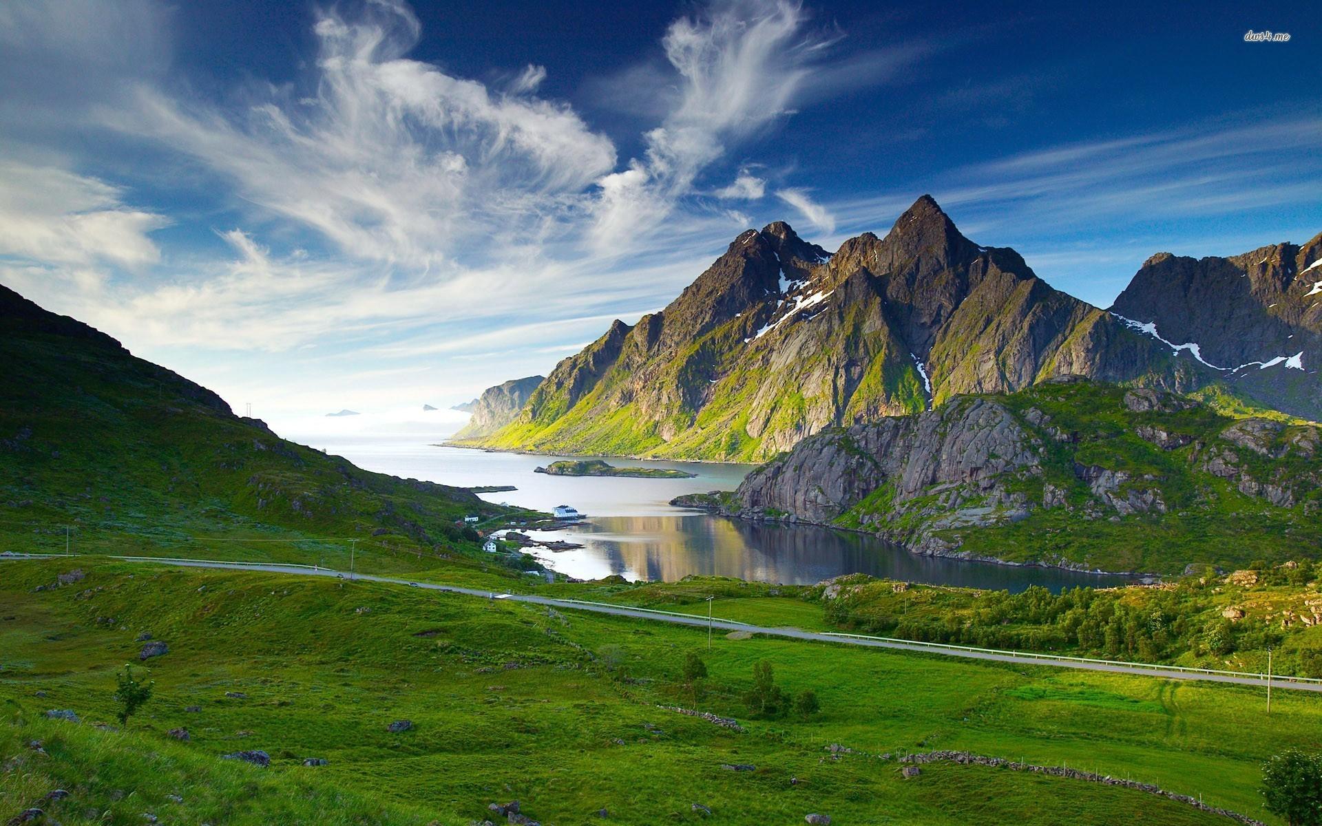 Mountain Landscape Wallpaper Widescreen 2 HD Wallpapers