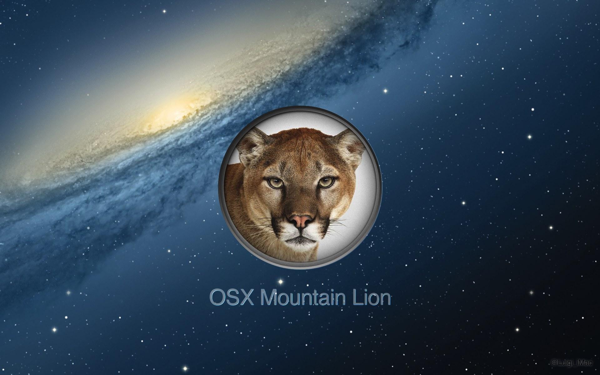mountain lion wallpaper | 1920x1200 | #40717
