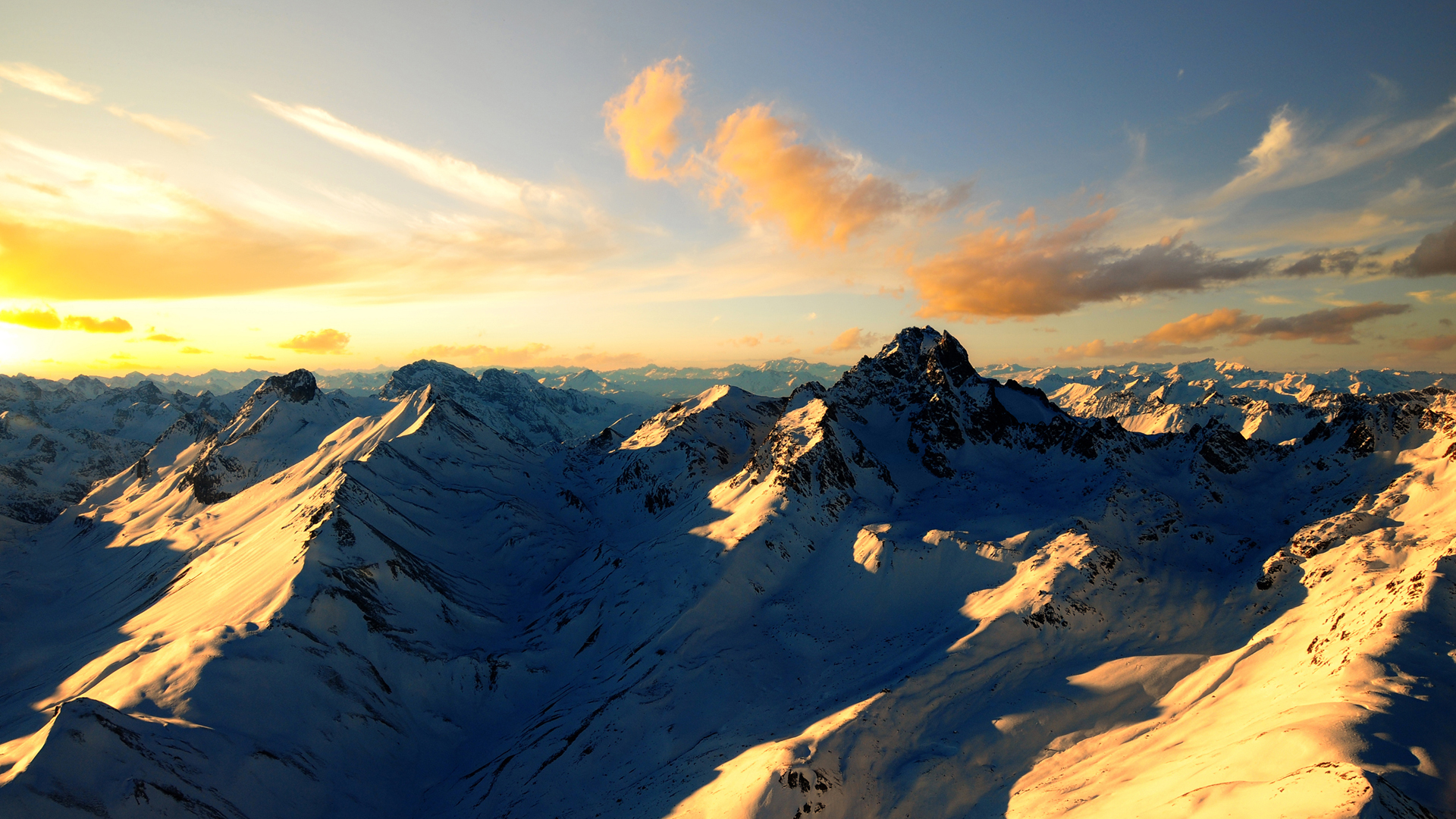 Cool Mountain Range Wallpaper 14162