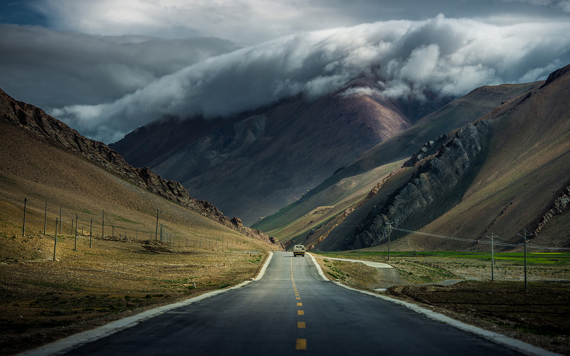 Mountain Road Backgrounds