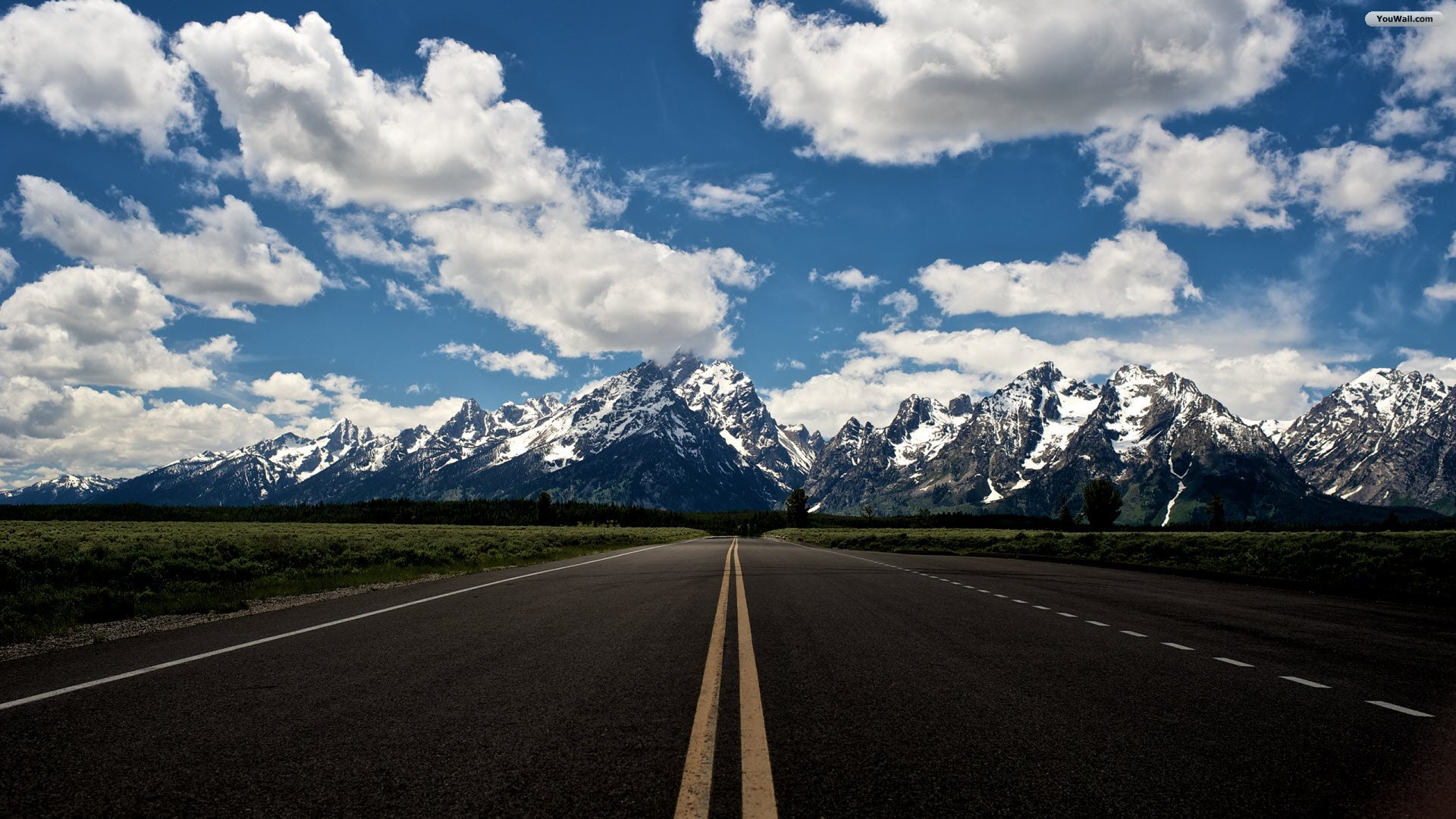 Mountain Road Wallpaper