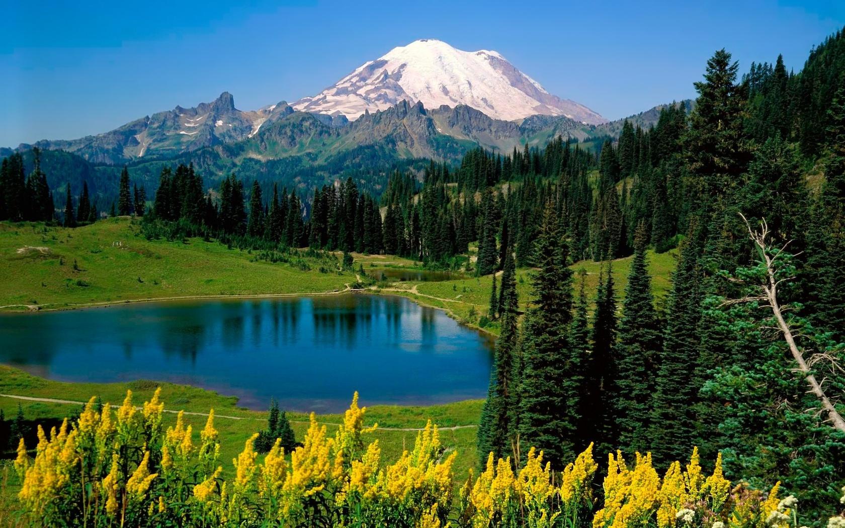 Mountain Scenery desktop wallpaper
