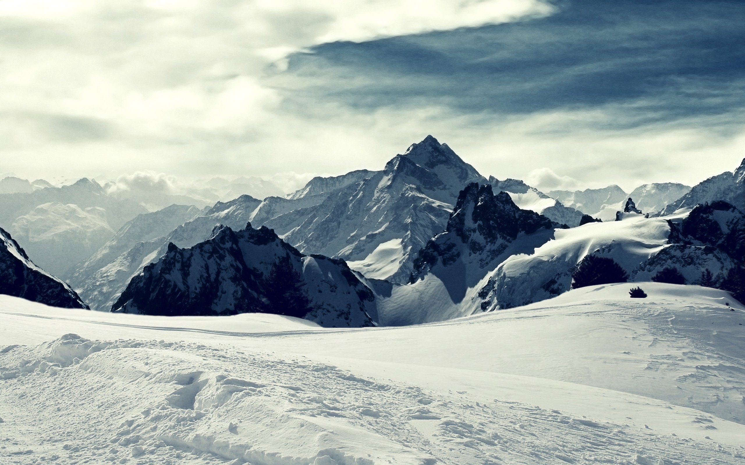 Mountainscape Wallpaper