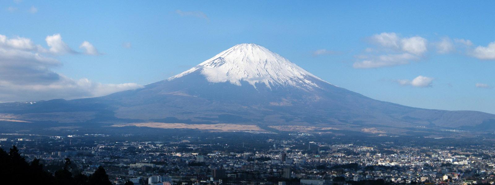 City Views and Mt Fuji