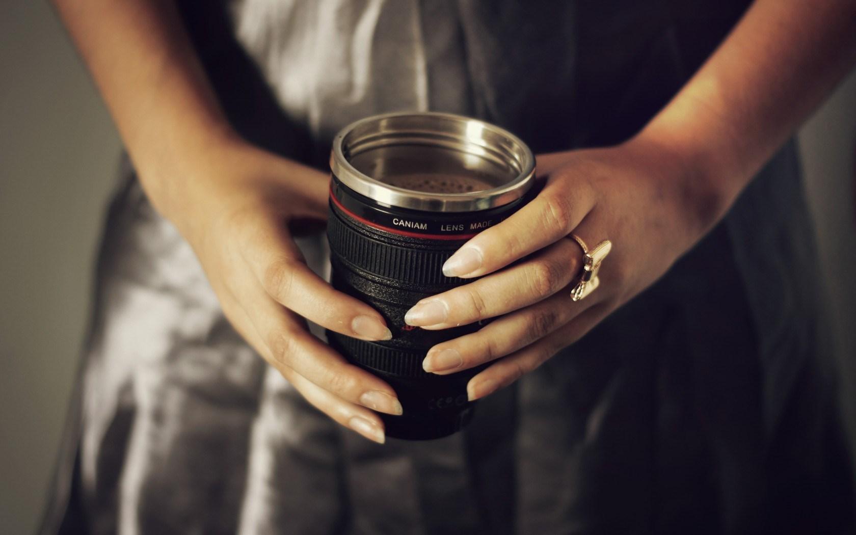 Mug Coffee Girl Mood