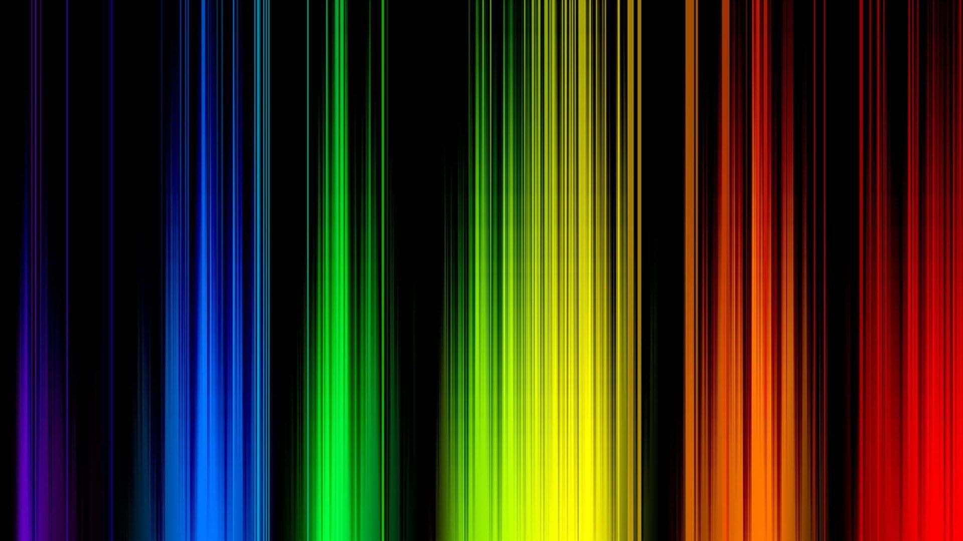 abstract multicolor rainbows