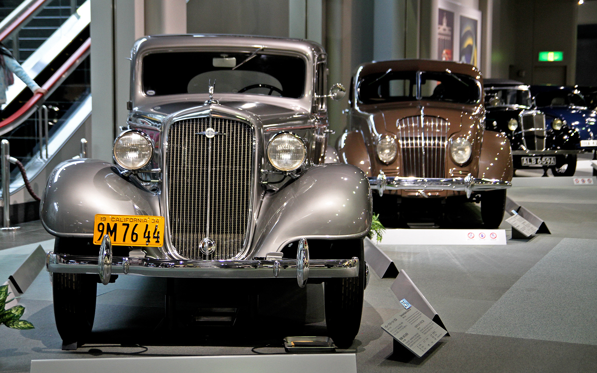 Museum oldtimer cars