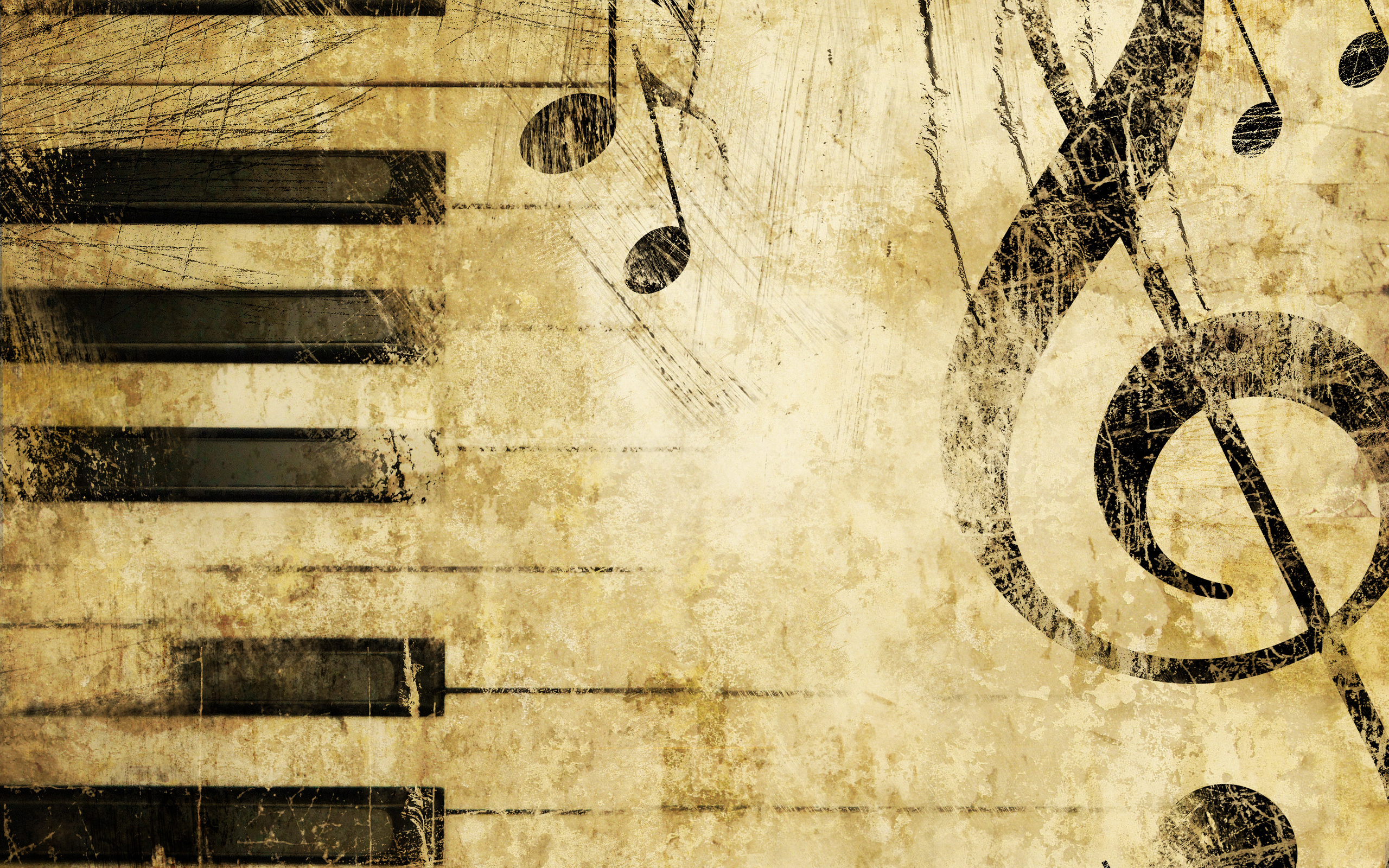 Music Notes Wallpaper 2560x1600 70183